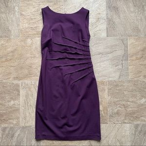 Jacob plum/aubergine dress